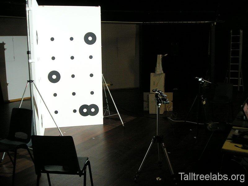 scan setup, 1 camera